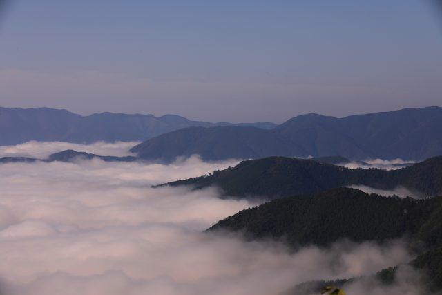 三浦峠から見た雲海
